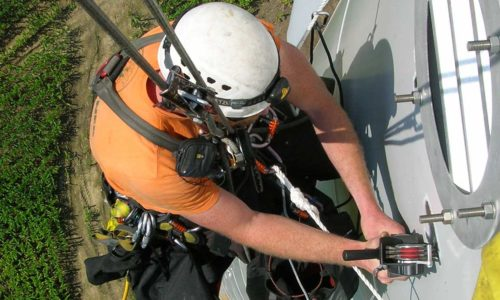 renewable energy, rope access
