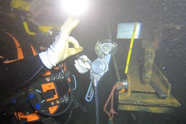 Subsea welding activity