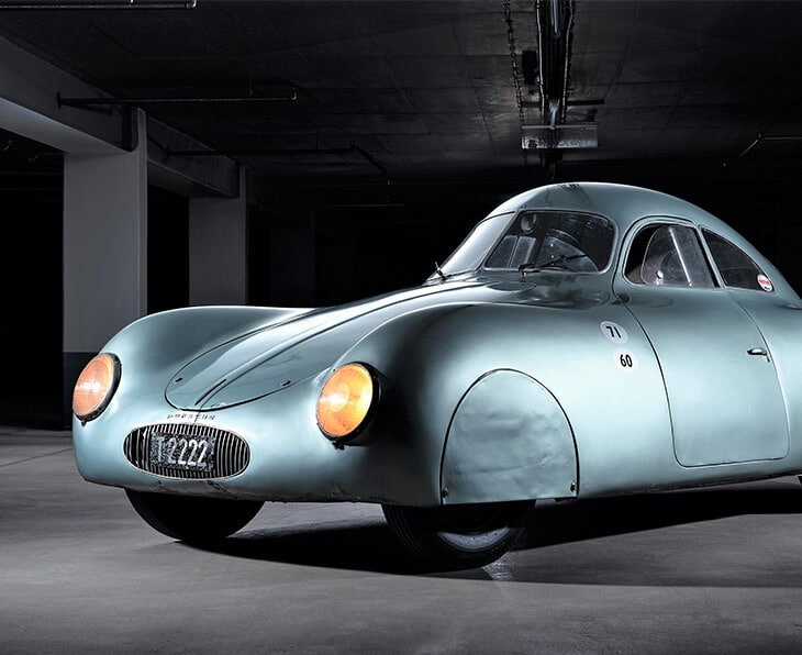 Inspired by perfection of Ferdinand Porsche