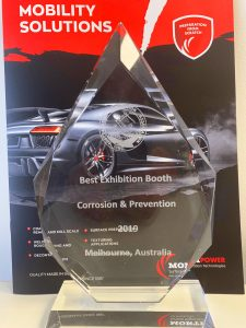 the award of Corrosion and Prevention Conference