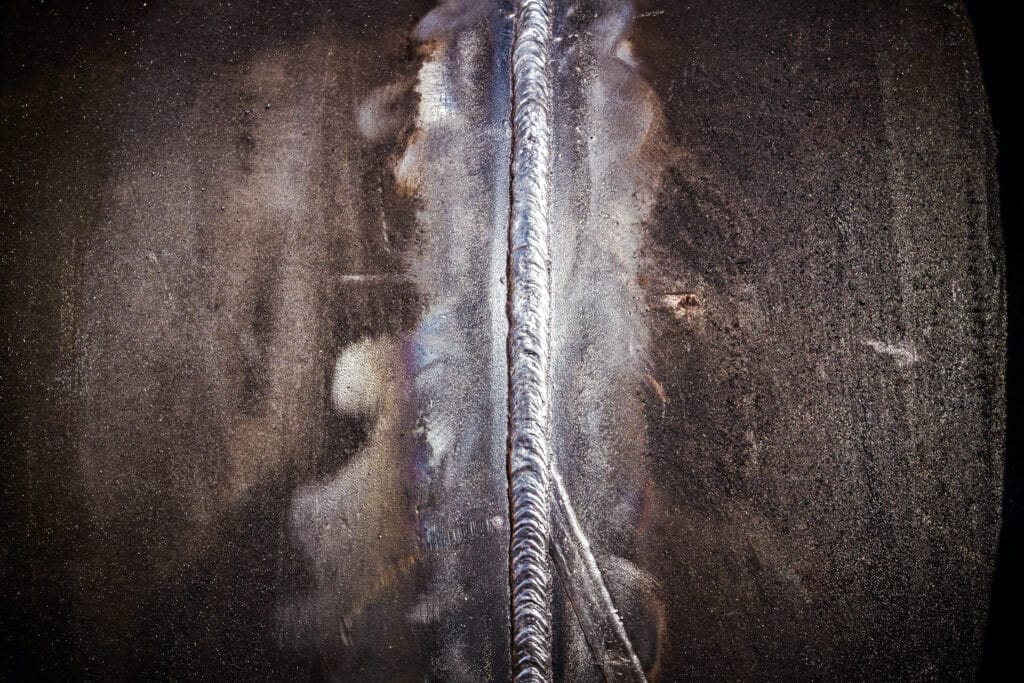weld cleaning surface profile