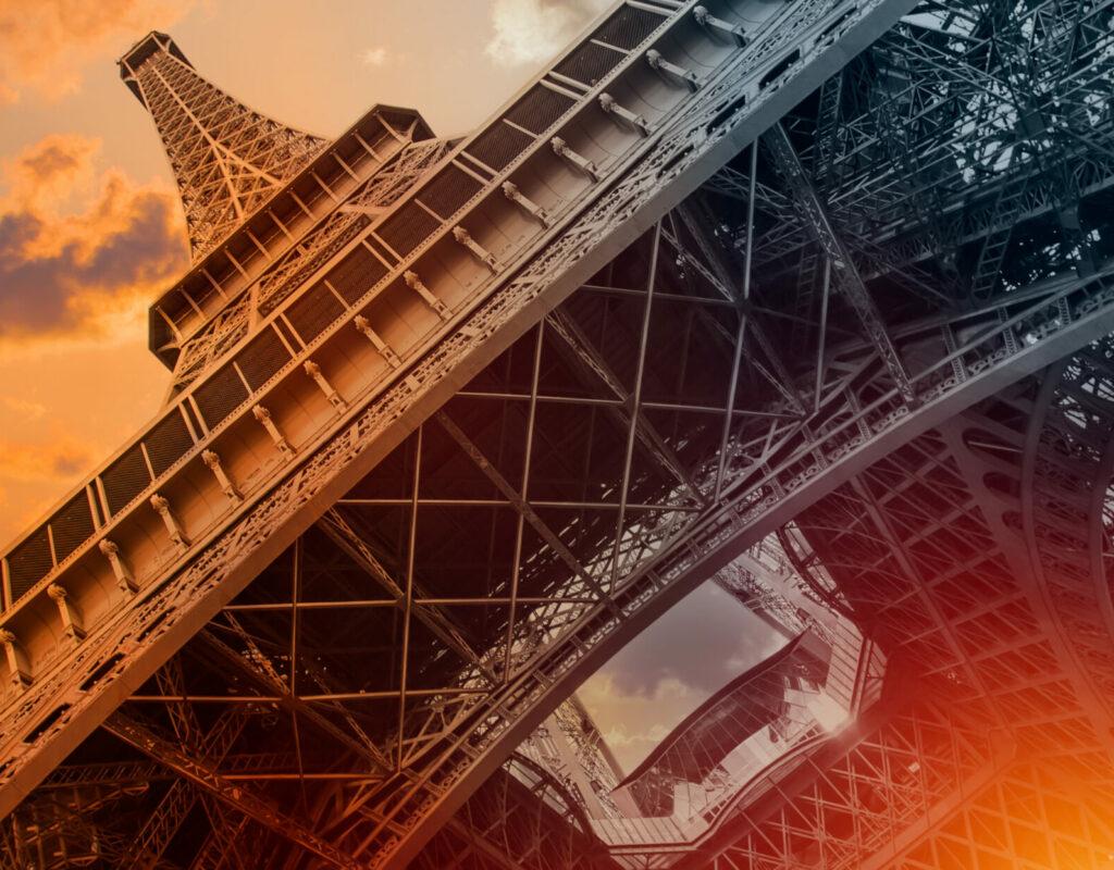 Eiffel tower iron