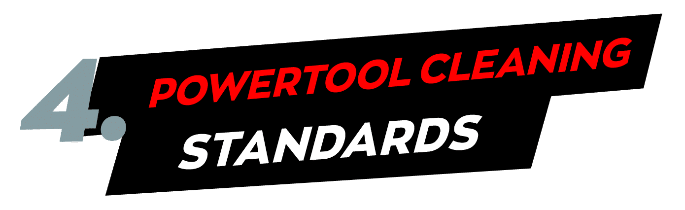 Dr. Prepper powertool cleaning standards
